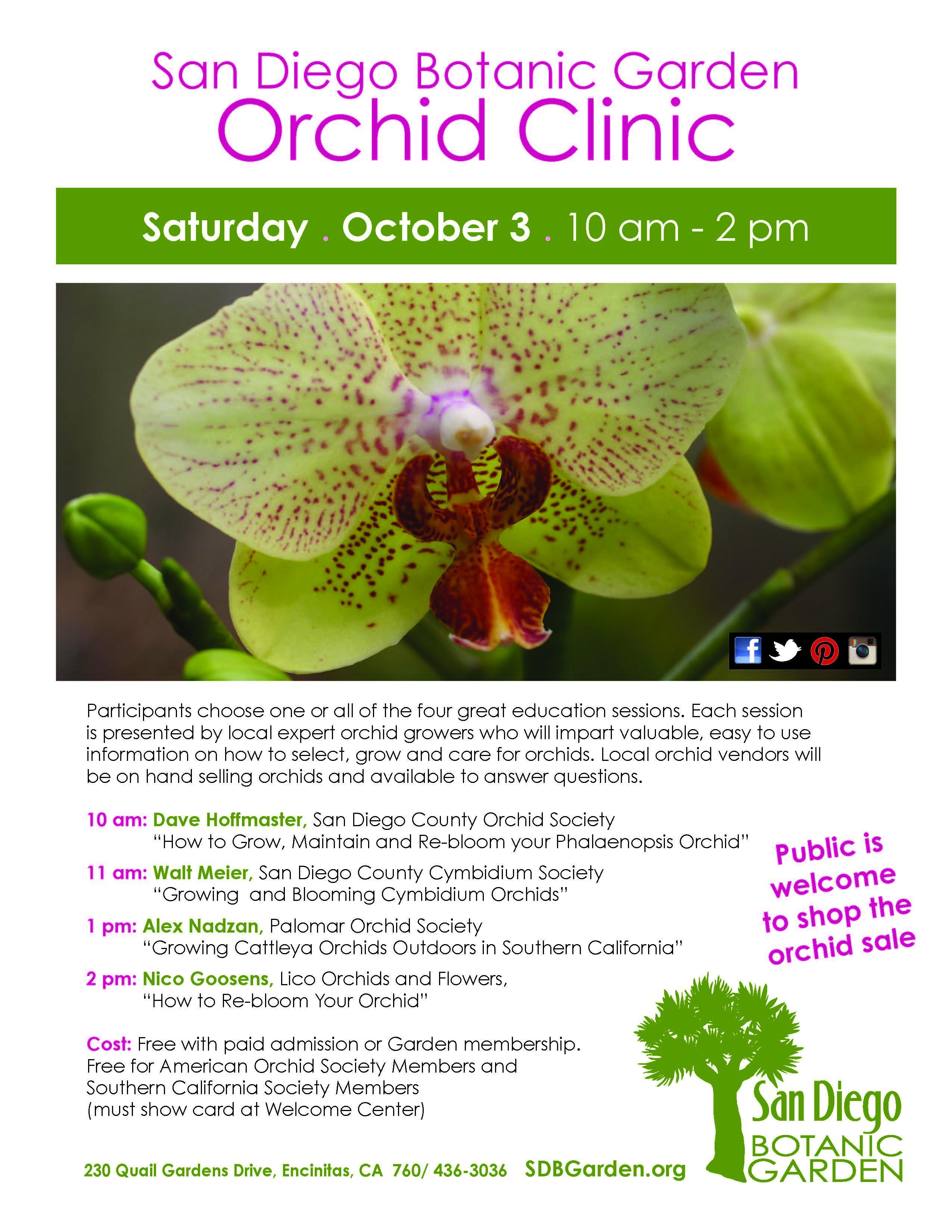 san go botanic garden orchid clinic 2015 newport harbor