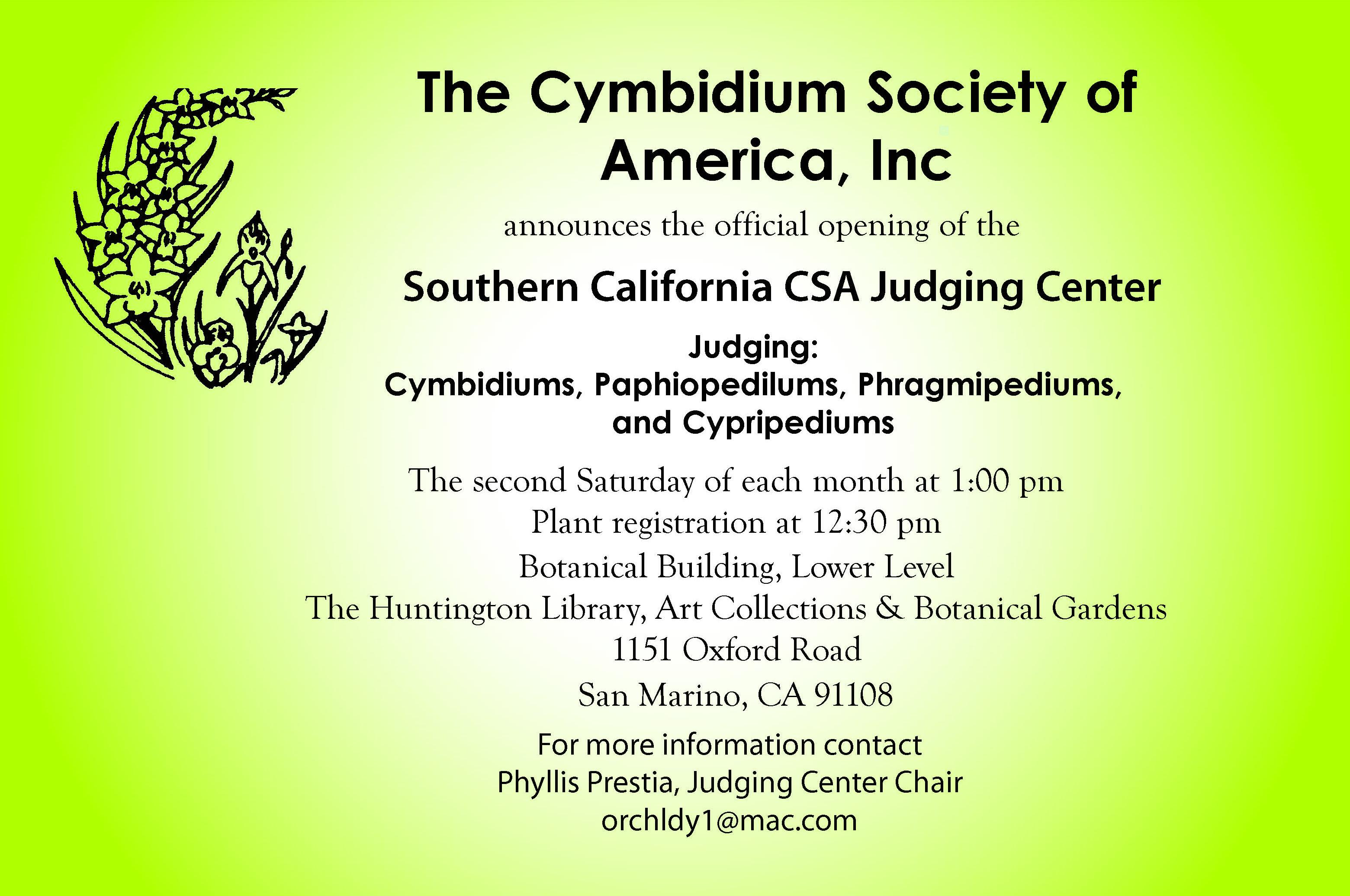 CSA-Judging-Center